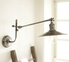 Packard Pivot Single Sconce | Pottery Barn $129