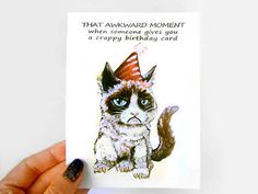 Male Birthday Cards Funny ~ Funny birthday card old fart blank greeting card by rainbowofcrazy