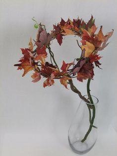 #Äste #Herbstblätter On The Street Where You Live fall leaf arrangement