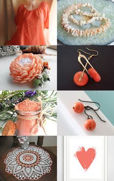 Coral by Lisa Gossman-Steeves on Etsy--Pinned+with+TreasuryPin.com