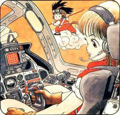 Dragon Ball by Akira Toriyama #bulma #goku #dbz