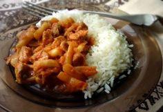 Fogyókúra csirkemell nélkül | NOSALTY – receptek képekkel Grains, Rice, Meat, Chicken, Recipes, Food, Bulgur, Essen, Eten