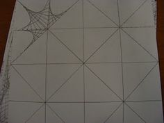 """""""Little"""" Artists In Training: Parabolic Line Designs- Magic Squares-- lots of examples from 5th grade- wow!"""