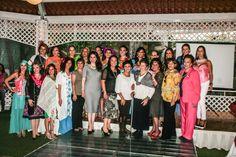 Estraordinaria pasarela de Rebozos del Comité de Damas de la Metro