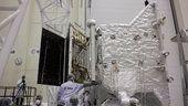 Mantis Society Study Center: Prueba de despliegue del ala solar de BepiColombo