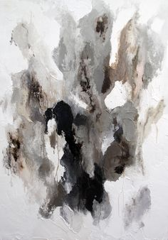 "Lisa Madigan ""A white ecstasy"" Oil on linen"