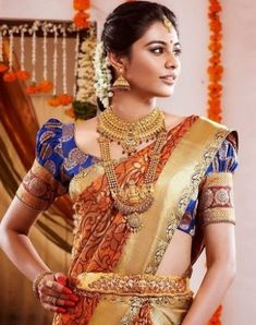Today MyDresses has brought in a beautiful post of south indian wedding dress for women! Shop now for the latest styles of south indian wedding dress for South Indian Wedding Saree, Indian Bridal Wear, South Indian Bride, Indian Wedding Jewelry, Saree Wedding, Indian Wear, Tamil Wedding, Bridal Sarees, Indian Groom