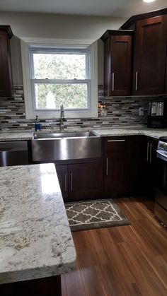kitchen remodel on a budget . kitchen remodel before and after . kitchen remodel with island . Kitchen Redo, Home Decor Kitchen, New Kitchen, Home Kitchens, Kitchen Ideas, Kitchen Island, Awesome Kitchen, Kitchen Chairs, Kitchen Inspiration