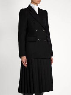 Cavalry wool-twill coat   Balenciaga   MATCHESFASHION.COM