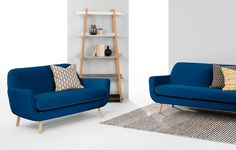 What are described as 'small sofas' often don't actually work in small spaces. Here's why - and our top 10 sofas for small spaces that really do the job. Couches For Small Spaces, Small Sofa, Soho, Cobalt, Contemporary Sofa, 2 Seater Sofa, Blue Velvet, Retro, Love Seat