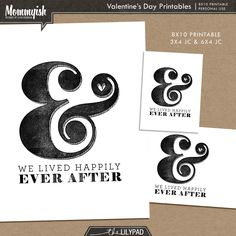 Quality DigiScrap Freebies: Valentine's Day journal card and printable from Mommyish