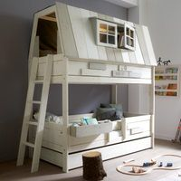 Adventure Kids Bunk Bed Hangout. Kid Spaces We Love at Design Connection, Inc. | Kansas City Interior Design http://www.DesignConnectionInc.com