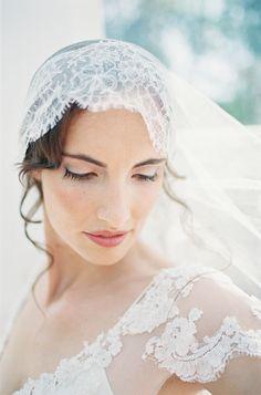 Veiled beauty | Photography: D\Arcy Benincosa - slcutahweddingphotography.com  Read More: http://www.stylemepretty.com/destination-weddings/2014/04/22/malahide-castle-irish-inspiration-shoot/