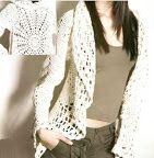 Original chaleco tejido a crochet puntos calados para tejer a crochet un chaleco OjoconelArte.cl |