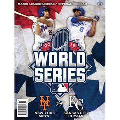 2015 Official Major League Baseball World Series Program - New York Mets vs Kansas City Royals