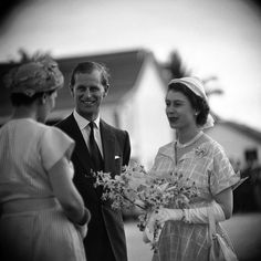 65 years ago today on Feb.6, 1952, Princess Elizabeth became Queen when her father King George VI passed away. She is pictured here with her husband Prince Philip on a trip to Jamaica in 1953. (Cornell Capa—The LIFE Picture Collection/Getty Images) #thisweekinLIFE #LIFElegends #QueenElizabeth