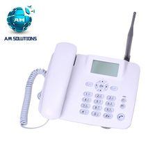 GSM téléphone à la maison sans fil téléphone GSM850/900/1800/1900 MHz Quadri-bande fixe sans fil téléphone avec FM pour bussiness bureau F316