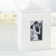 L'urne de mariage boîte en bois