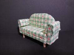 ドールハウス家具 ソファーの作り方Dollhouse furniture  Way of making a sofa - YouTube