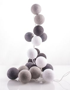 Cotton Balls by good moods* :: Zestaw Grafit 20 kul (GM/K0003-20)