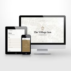 One page responsive wordpress website for The Village Inn. #wordpress #ui #ux #uidesign #uxdesign #web #webdesign