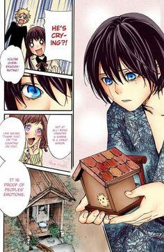 Noragami manga ♡ I love this chapter, Hiyori and Yato are the perfect couple