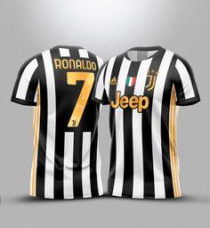 Cr7 Juventus, Ac Milan, Cristiano Ronaldo, Football, Adidas, Sports, Tops, T Shirts, Embroidery