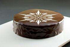Crystal Snowflake Cake Top