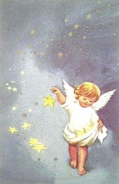 Vintage Christmas Images, Christmas Pictures, Christmas Angels, Christmas Art, Bible Songs For Kids, Chrismas Cards, Angel Pictures, Christmas Illustration, Angel Art