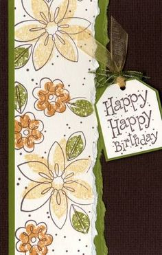 One Sheet Wonder by squirel69 - Cards and Paper Crafts at Splitcoaststampers