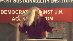 Rosa Koire Speech about Agenda 21......This lady is a Democrat!!