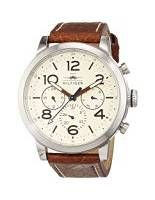 TOMMY HILFIGER Jake Men's Quartz Watch with Off-White Dial Analogue Display and…