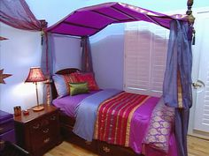Moroccan Oasis Teen Bedroom : Page 02 : Archive : Home & Garden Television
