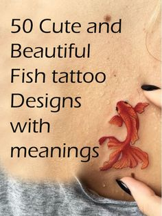50 Cute Fish Tattoo Designs With Meanings