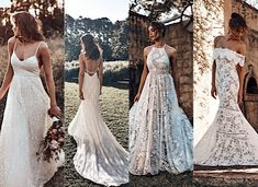 Sensational Grace Loves Lace ICON 2018 Collection for the Modern Bride - MODwedding