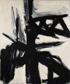Garcia 1957 Painting By Franz Kline - Reproduction Gallery Watercolor Paintings Abstract, Watercolor Artists, Landscape Paintings, Abstract Art, Painting Art, Painting Lessons, Franz Kline, Willem De Kooning, Jean Michel Basquiat
