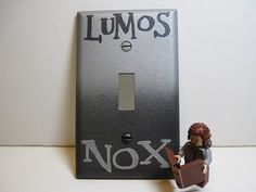 GLOWING Harry Potter Lumos Nox Silver and Black by DeeplyDapper, $8.50