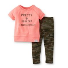Carter's® Toddler Girl 2 Piece Pant Set - JCPenney