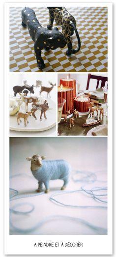 L'atelier du mercredi : avec des animaux en plastique