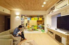 子供の成長を考えた家をマンションのリノベーションで実現しました。