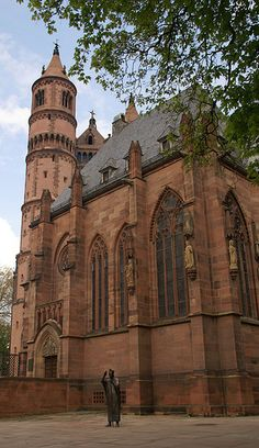 Worms, Dom St. Peter, Südfassade (St. Peter's Cathedral, southern facade)