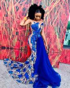 40 Gorgeous Wedding Dress Styles For Your African Traditional Wedding – The Glossychic - African fashion African Prom Dresses, Latest African Fashion Dresses, African Dress, Ankara Dress, African Wedding Attire, African Attire, African Weddings, Nigerian Weddings, African Print Wedding Dress