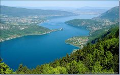 Col de la Forclaz, Lac d'Annecy, France