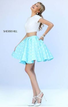 Short Sherri Hill prom dress perff for a birthday celebration !