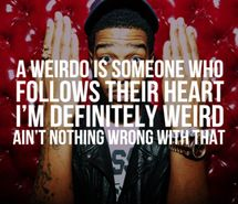 hat, inspirational, kid cudi, photography, quote