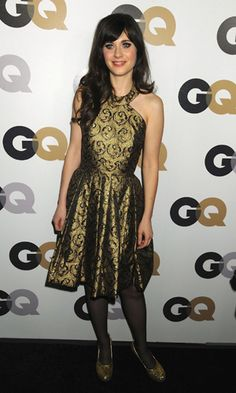 Zooey Deschanel at the GQ 'Men Of The Year' Party, Los Angeles