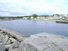 Kennebunkport, Maine - View from Gooch's Beach