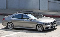 Spied! 2014 Mercedes-Benz S-Class Sedan Completely Uncovered - WOT on Motor Trend