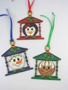 A Stroke of Jeanne-ius  - Holly Honeys Lantern Ornaments  E-Pattern, $6.00 (http://www.astrokeofjeanneius.com/holly-honeys-lantern-ornaments-e-pattern/)