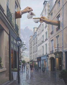 Gallery of Magic Realism, Surrealism, Surrealist, Fantastic Realism Photomontage, Collage Artwork, Magic Realism, Art Graphique, Coffee Art, Surreal Art, Aesthetic Art, Cute Wallpapers, Art Inspo